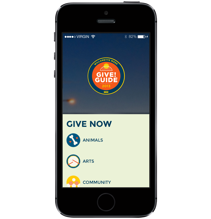 Give!Guide mobile