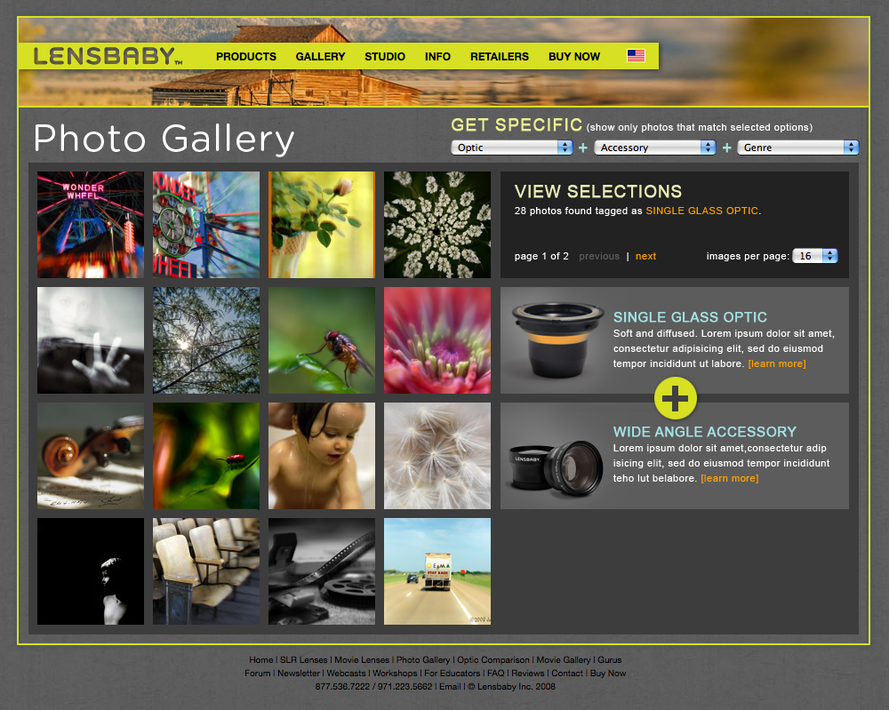 Lensbaby Photo Gallery